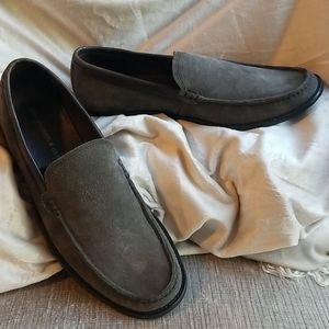John Varvatos Star USA suede loafers sz 10.5M